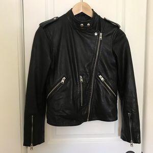 Allsaints Keylin Leather Moto Jacket